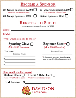 2018 Clay Day Registration Form Thumbnail